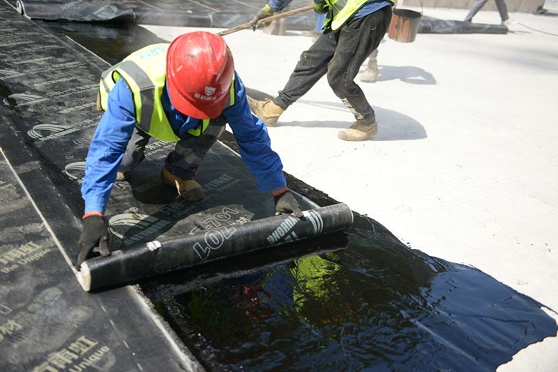 防水材料-防水卷材施工