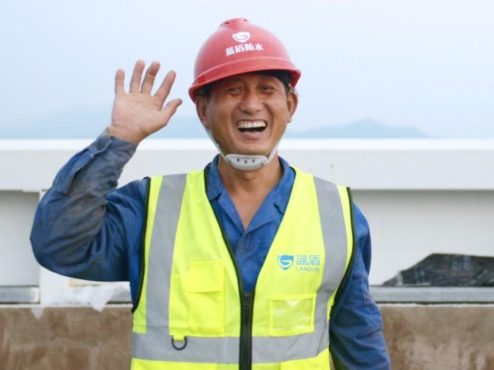 高温下的坚守——致敬最可爱的杭州蓝盾防水施工队伍