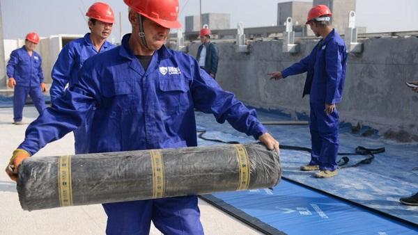 混凝土屋面防水施工