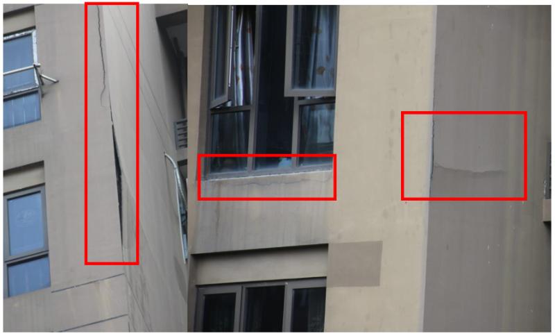 外墙阳角部位空鼓--房屋修缮