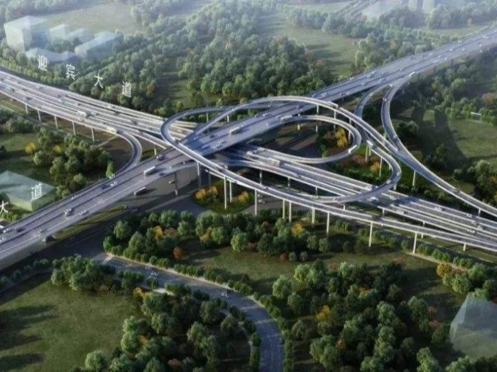赣州迎宾大道快速路桥面防水施工
