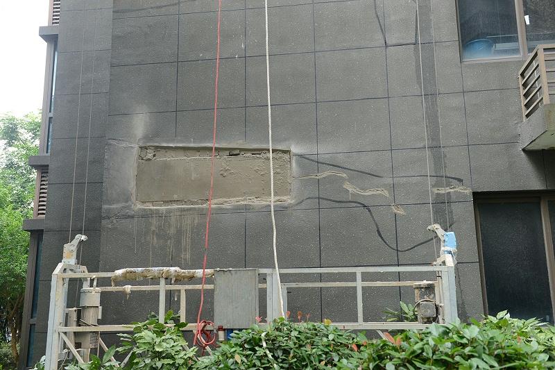 外墙保温脱落维修
