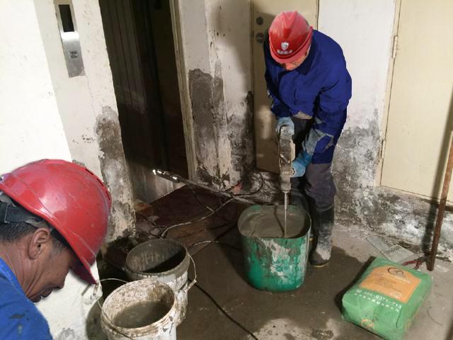 电梯井漏水维修