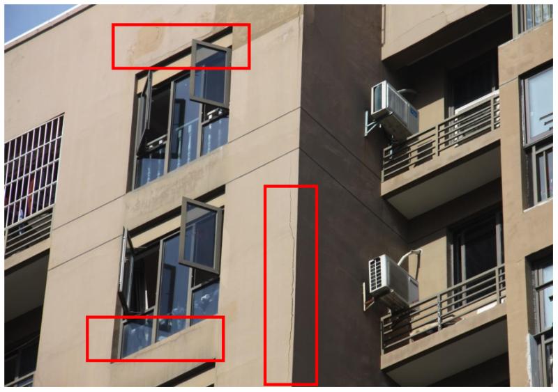 外墙渗漏常见部位